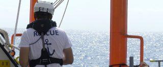 """Aquarius, diario di bordo – Giorno 5. """"11mila euro al giorno di costi operativi. Sopravviviamo con le donazioni dei privati"""""""