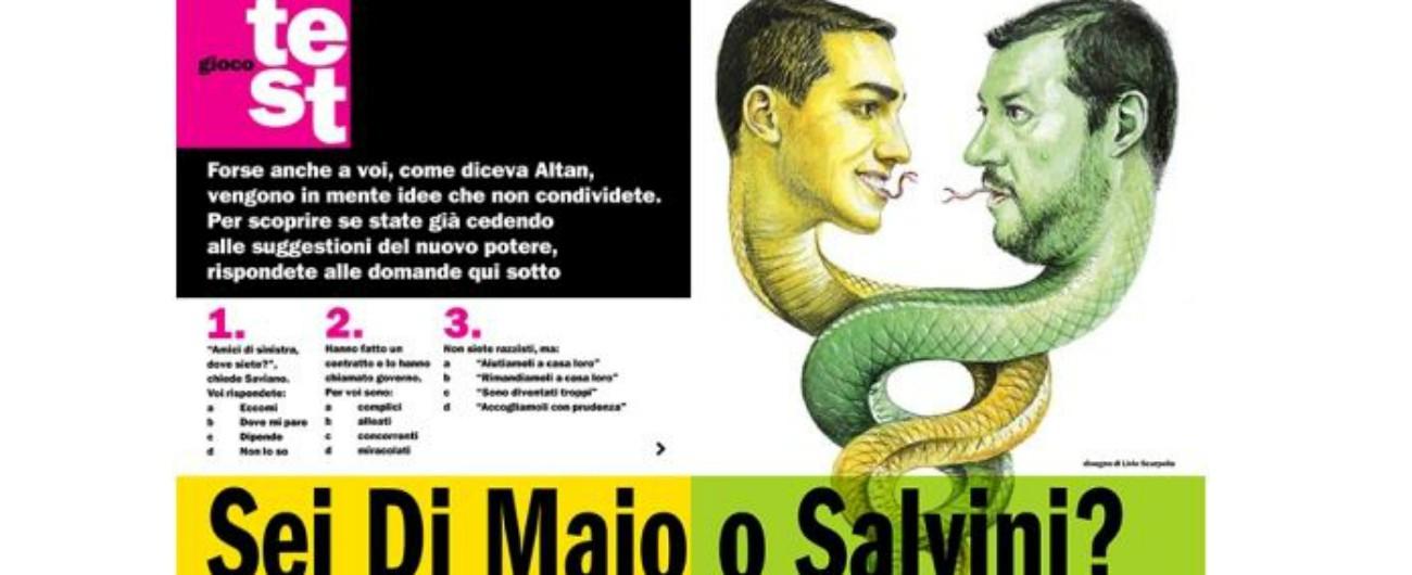 """Sondaggio de L'Espresso, Fnsi: """"Vergognoso sessismo"""". Le scuse del settimanale: """"Gioco non riuscito"""""""