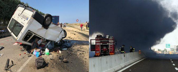 I gravi incidenti di Bologna e Foggia dimostrano che l'Italia ha un serio problema col trasporto merci