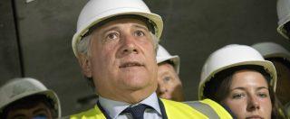 """Tav, Tajani: """"Bloccare la Torino-Lione sarebbe una scelta scellerata"""". Berlusconi: """"Salvini sia coerente"""""""