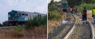 """Reggio Calabria, """"così il treno ha travolto e ucciso i 2 bambini. La madre ha tentato di salvarli"""""""