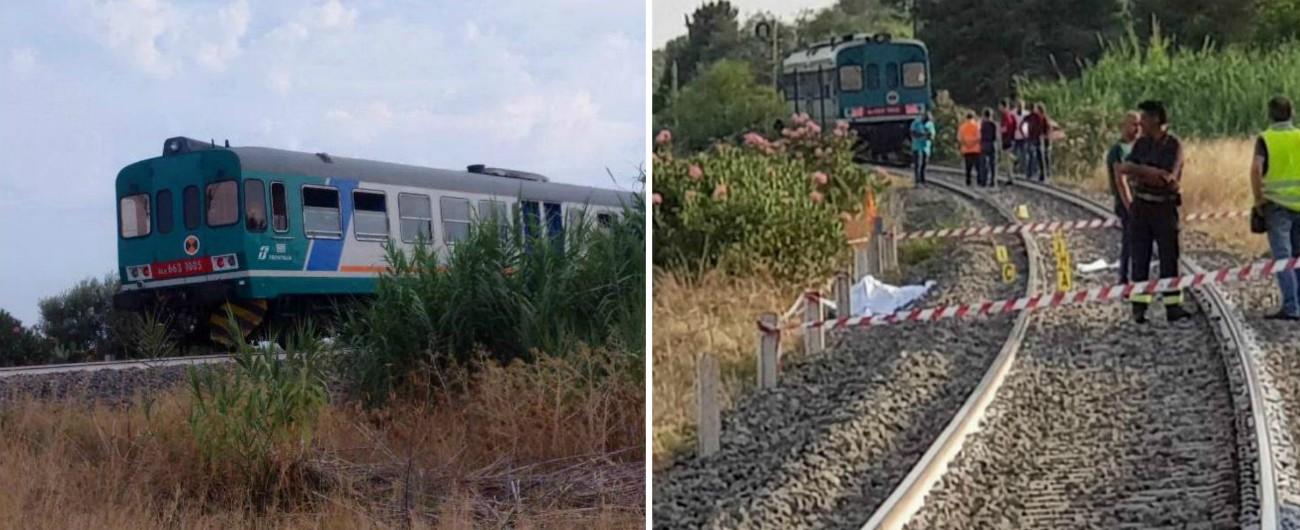 Reggio Calabria, un treno investe una famiglia: morti 2 bambini, grave la madre