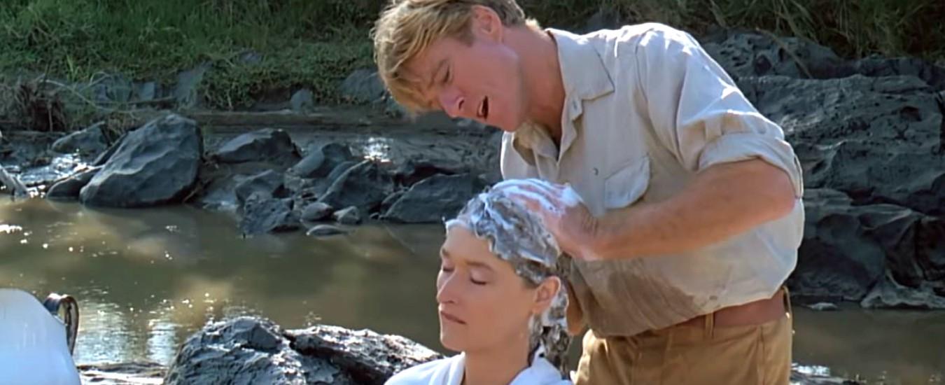 Robert Redford, chi non ha mai sognato di essere Meryl Streep e farsi fare uno shampoo?