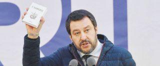 """Salvini: """"Via Genitore 1 e Genitore 2, sui moduli Viminale 'madre' e 'padre'. Negozi marijuana legale? Fenomeno pericoloso"""""""