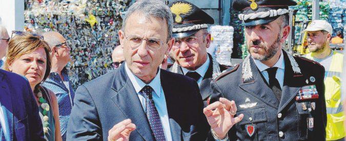 Costa mette sotto tutela Raggi e Zingaretti sui rifiuti