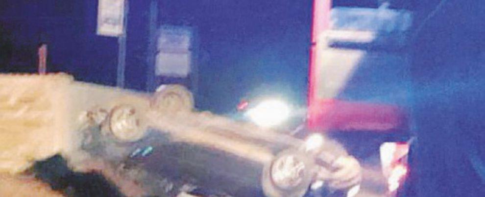 Ubriaco alla guida, si ribalta con la propria vettura uccidendo la figlia di 8 anni