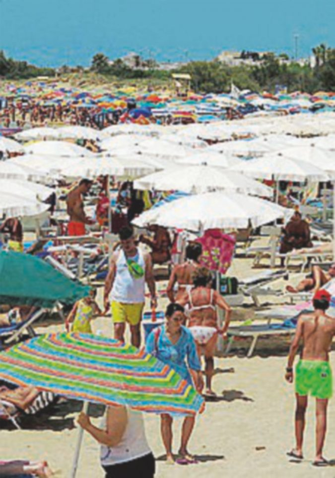 In concessione il 60% delle spiagge. Liguria al top di stabilimenti