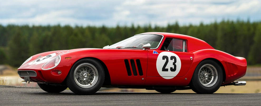 Ferrari, all'asta di Monterey una 250 GTO Scaglietti da 60 milioni di dollari