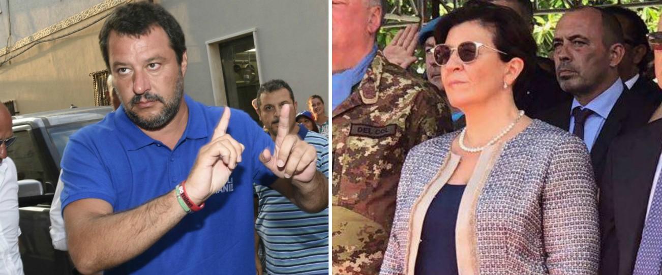 """Servizio militare, Salvini: """"Valutarne il ritorno, è educativo"""". Il ministro Trenta: """"Idea romantica non al passo coi tempi"""""""