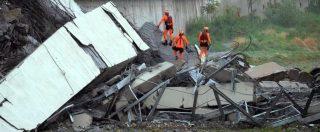 """Genova, crollo di ponte Morandi. Rosso: """"Le cause del crollo non sono idrauliche, il pilone non sembra essere stato eroso"""""""
