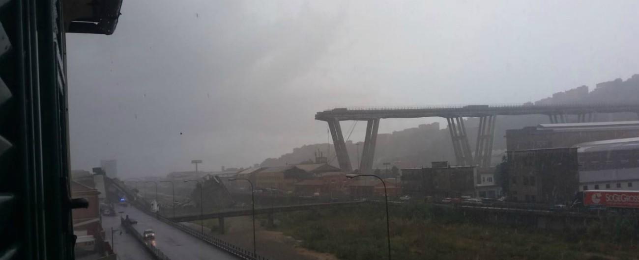 """Ponte Morandi, il Cnr: """"Decine di migliaia di ponti hanno superato la durata di vita per la quale sono stati costruiti"""""""