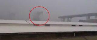 """Ponte Morandi, il momento del crollo e le urla delle persone: """"Oddio"""""""