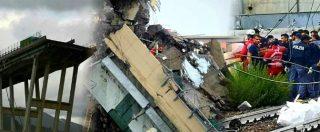 """Genova, crolla ponte Morandi sulla A10: """"Sono 26 le vittime accertate"""". Precipitati 30 auto e 3 tir: si cercano dispersi. Aperta inchiesta per omicidio e disastro colposi – LA DIRETTA"""