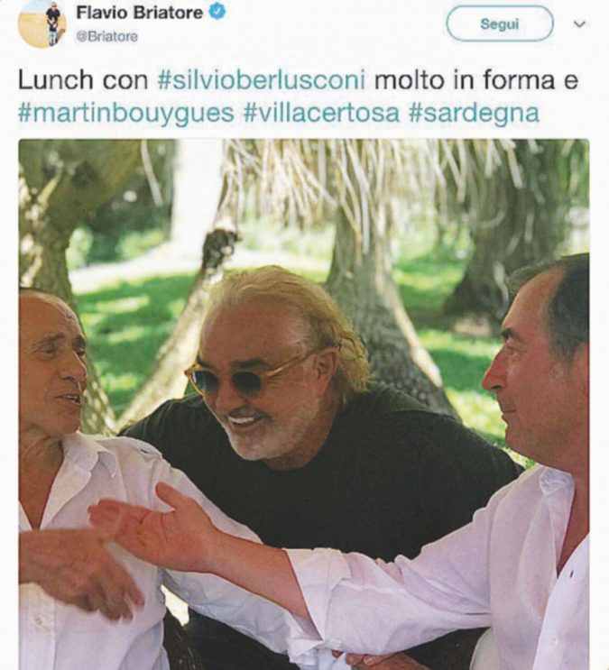 La solita estate di Silvio tra starlette e affari