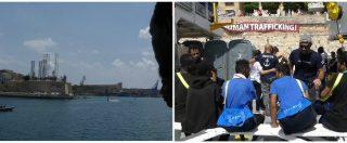 Aquarius, la nave con a bordo 141 persone approda a Malta: l'ingresso nel porto dei migranti dopo 5 giorni in mare