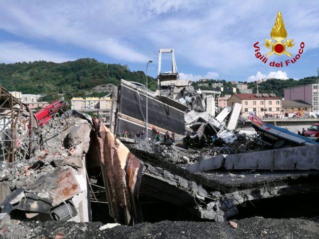 Genova, crollo ponte Morandi sulla A10: 39 morti, 3 bambini.