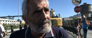 """Genova, Protezione civile: """"Il ponte è crollato nell'alveo del fiume: ora rimuovere i detriti per scongiurare esondazione"""""""