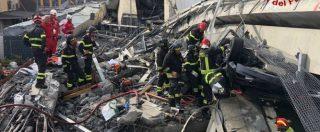 """Genova, il crollo del ponte Morandi: 39 morti e 16 feriti. Si continua a scavare: """"Decine di dispersi"""". Il procuratore: """"Non è stata fatalità"""" – DIRETTA"""