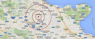 Terremoto, forte scossa in Molise. Epicentro a Montecilfone: magnitudo 5.1