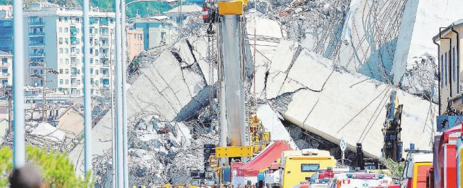 """Crollo Ponte Morandi, """"anomalie sul pilone nove"""". Il Politecnico aveva avvertito Autostrade a novembre"""