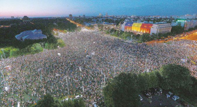 """Il richiamo della protesta: Bucarest e la """"peste rossa"""""""