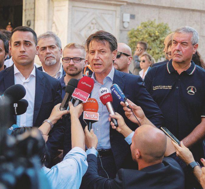 Genova, Conte fa l'avvocato. Atlantia crolla in Borsa: -22%