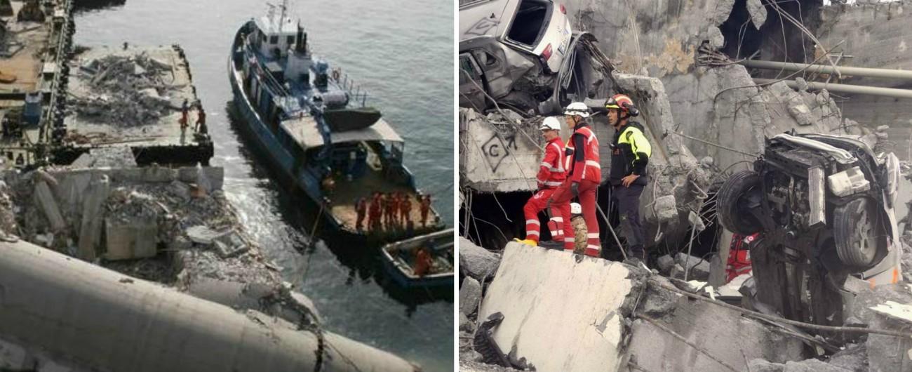 Ponte Morandi, l'indagine sul crollo al pm che per la Torre Piloti ha messo sotto accusa i vertici di Messina e Capitaneria