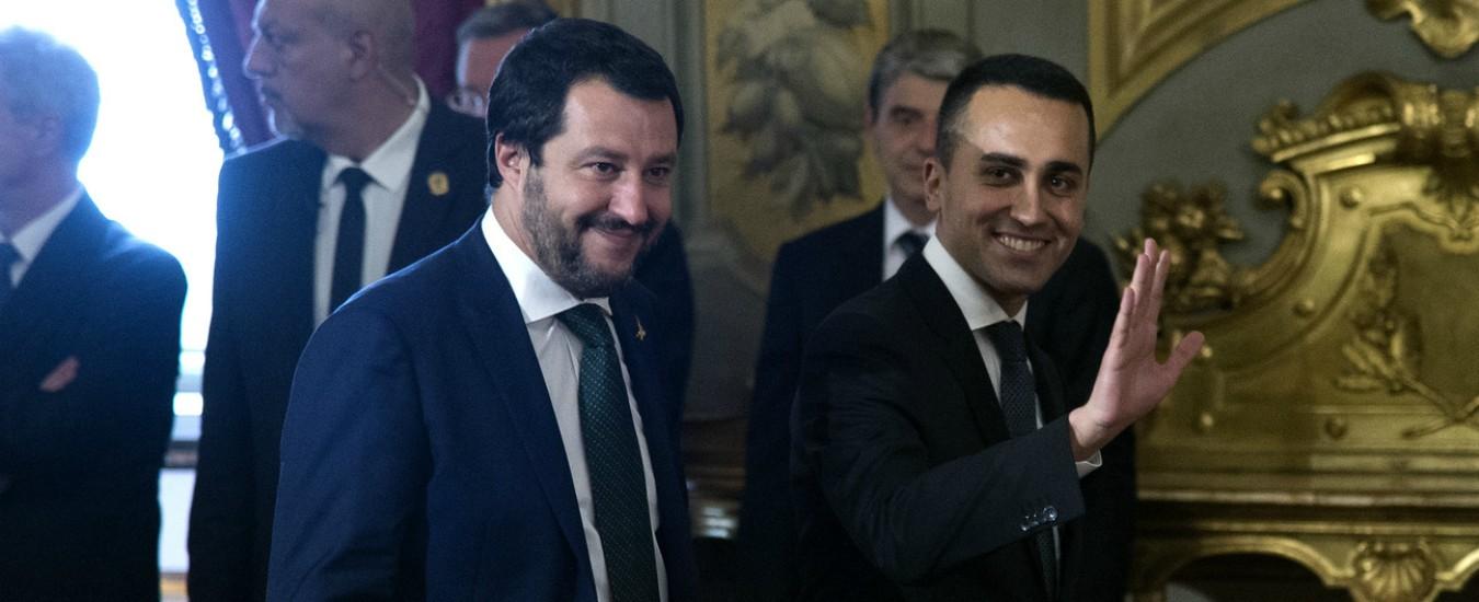 """Condono, il vicepremier Salvini: """"Chiederò anch'io una copia del decreto"""". Di Maio: """"Via il condono, lasciamo la pace fiscale"""""""