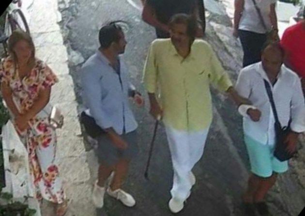 Brindisi, l'emiro del Qatar torna a trovare l'anziana signor