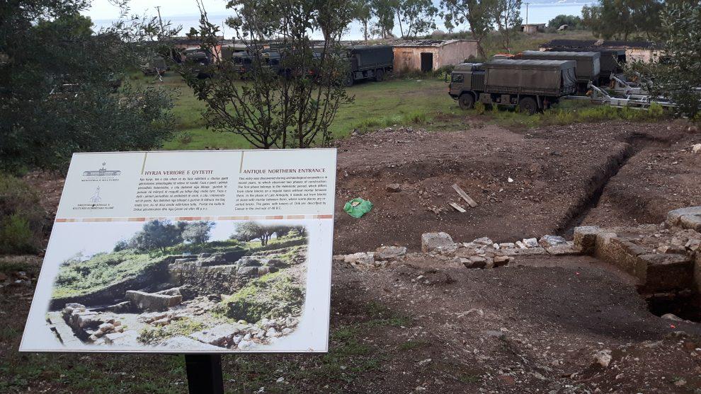 orikum archeologia in base militare
