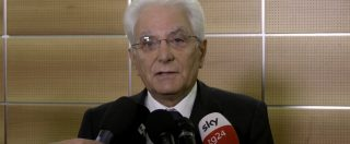 """Ponte Morandi, il presidente Mattarella: """"Tragedia inaccettabile. Accertamento rigoroso della verità"""""""
