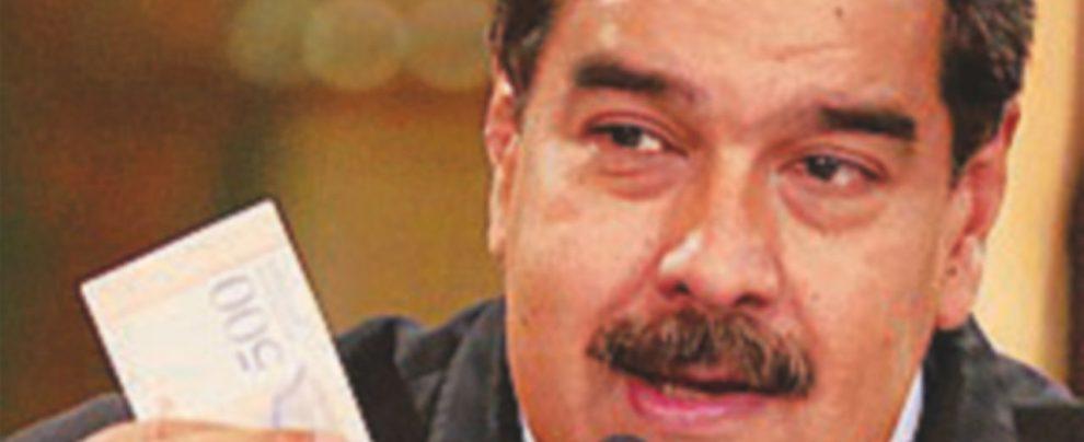 Nicolas Maduro moltiplica i salari ma non pane e pesci