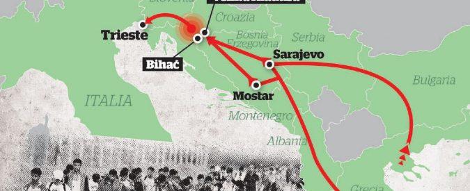 La nuova via dei Balcani passa per la Bosnia e Trieste