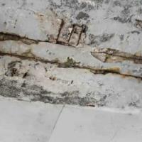 Alcune foto relative al distacco di calcinacci del giugno scorso