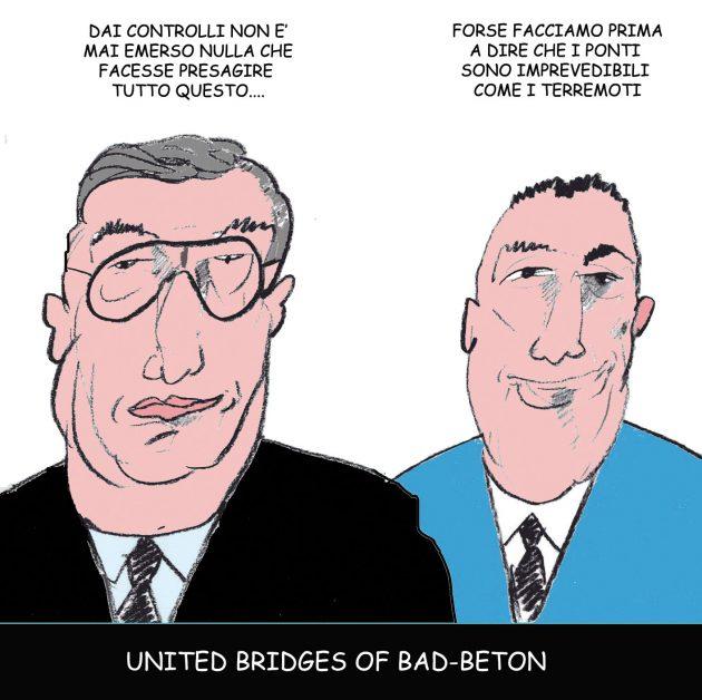 Ponte Morandi, quanto pesa il silenzio dei sempre 'mediatici