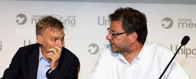 """Ponte Morandi, Giorgetti: """"Statalizzare le autostrade? Non sono persuaso. Bisogna cambiare il codice degli Appalti"""""""