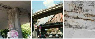 """Roma, dopo Genova si torna a chiedere l'abbattimento della Tangenziale Est: """"Ha quasi 50 anni. Piovono calcinacci"""""""