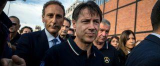 """Genova, Conte: """"Avanti su revoca concessione. Fondi da Autostrade? Pochi rispetto a utili, potrebbero quintuplicarli"""""""