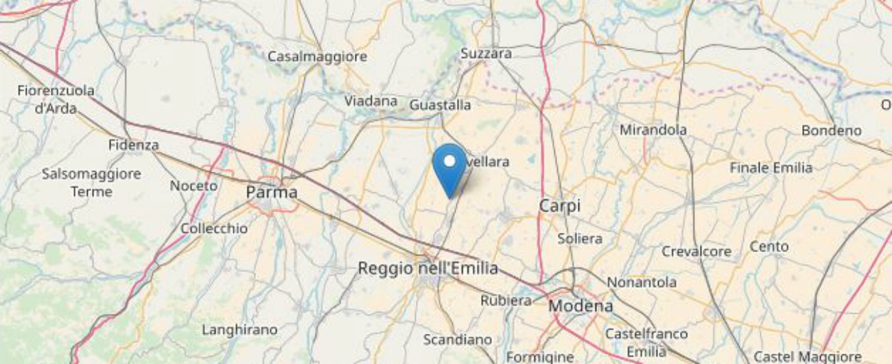 Terremoto, scosse nella notte a Reggio Emilia: una di magnitudo 3.9. Trema ancora il Basso Molise