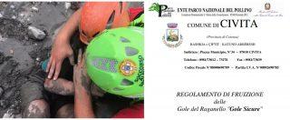 Pollino, il comune di Civita preparò il regolamento per accesso dei turisti alle Gole. Ma non è mai entrato in vigore