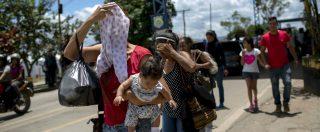 """Venezuela, stato del Brasile vuole chiudere la frontiera. """"Campi profughi per chi scappa"""". Lanciato il """"bolivar sovrano"""""""