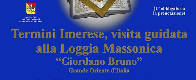 Massoneria, la visita guidata nella loggia del Grande Oriente d'Italia ha il patrocinio della Regione Siciliana