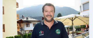 """Salvini parla della Diciotti e indossa la polo degli Alpini, l'Ana replica: """"Siamo apartitici, non vogliamo accostamenti"""""""