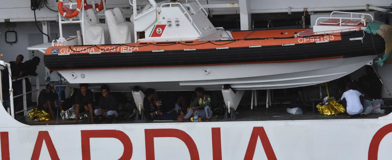 """Diciotti, Pd: """"Conte riferisca in Aula. Sulla nave donne vittime di violenza e 120 migranti in sciopero della fame"""""""