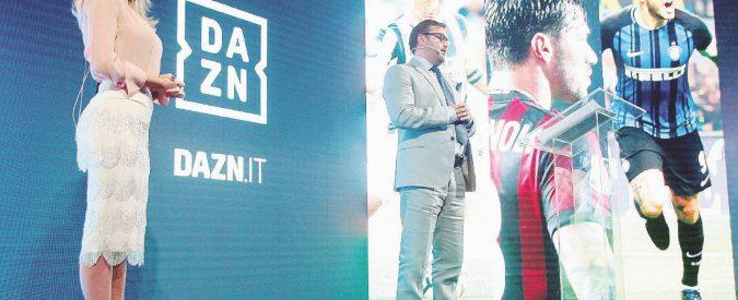 Si scrive Dazn, si legge affari con calcio e scommesse
