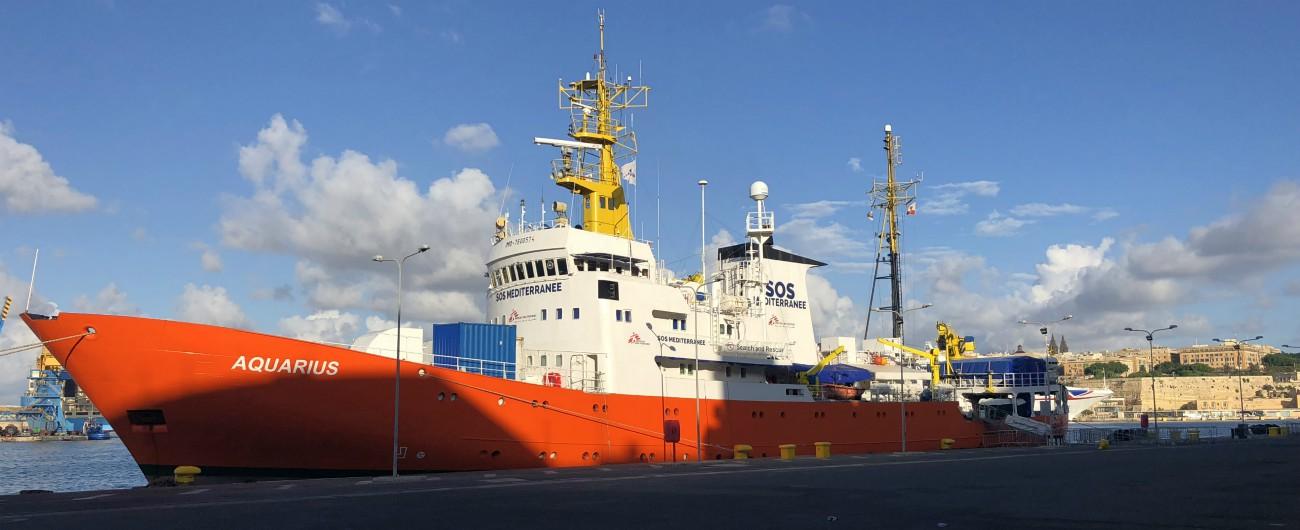 Migranti, anche nave Aquarius si ferma: così le ong sono sparite dal Mediterraneo