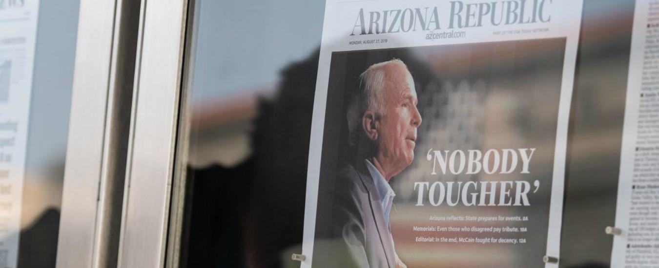 John McCain e gli elogi della sinistra, ma chi era davvero il guerrafondaio Usa?