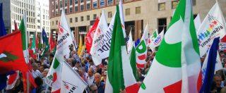 """Milano, migliaia in piazza per dire No all'incontro Orban-Salvini. Civati: """"Da qui parta nuova sinistra"""""""
