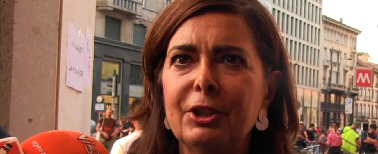 """Laura Boldrini, aggredita verbalmente all'aeroporto Fiumicino. """"Le hanno urlato: 'Vergogna, prima gli italiani!'"""""""