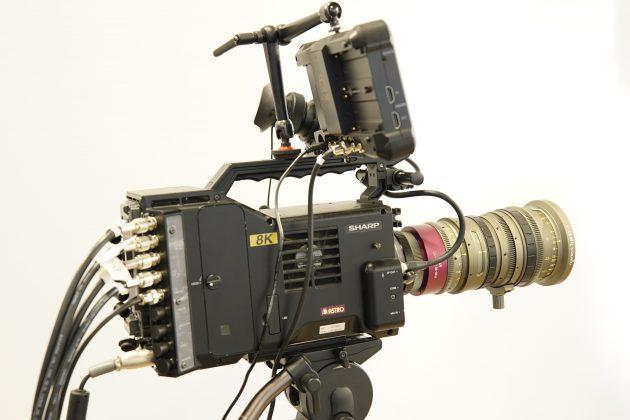 Videocamera Sharp 8K